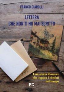 Copertina di 'Lettera che non ti ho mai scritto'