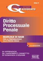 I Quaderni dell'Aspirante Avvocato - Diritto Processuale Penale - Redazioni Edizioni Simone