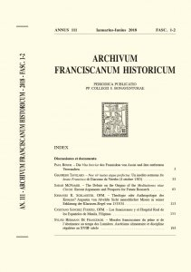 Copertina di 'Una lettera inedita di Caterina Vigri ai Reggenti di Bologna (1462)  (219-232)'