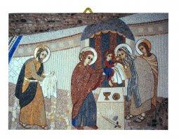 Copertina di 'Quadro stampa Presentazione al Tempio Padre Rupnik - 10,8 x 14,5 cm'