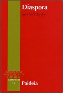 Copertina di 'Diaspora. I giudei nella diaspora mediterranea da Alessandro a Traiano (323 a. C.-117 d. C.)'