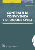 Contratti di convivenza e di unione civile - Remo Bassetti