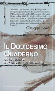 Copertina di 'Dodicesimo quaderno. Gli 83 giorni di Etty Hillesum ad Auschwitz (Il)'
