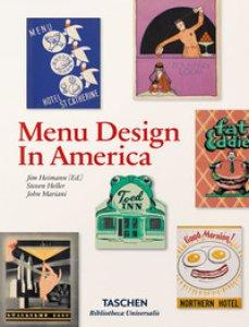 Copertina di 'Menu design in America. Ediz. inglese, francese e tedesca'