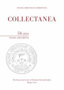 Copertina di 'Collectanea 54 (2021). Studia-documenta'