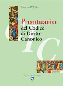 Copertina di 'Prontuario del codice di diritto canonico'