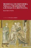 Modelli di riforma nella tradizione giudaico-cristiana