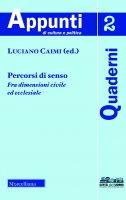 Percorsi di senso - Caimi Luciano