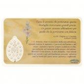 Immagine di 'Card medaglia Sant'Antonio di Padova (10 pezzi)'