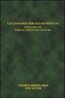 Leccionario bíblico-patrístico. Ciclo bienal para el oficio de lectura