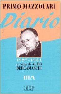 Copertina di 'Diario (1927-1933). Vol. 3/A'