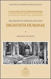 Copertina di 'Dignitatis humanae. Declaratio de libertate religiosa'
