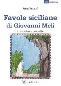 Copertina di 'Favole siciliane di Giovanni Meli'