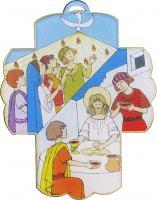 Croce in plexiglass cresima e comunione - cm 13x10