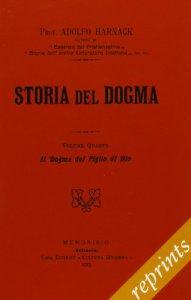 Copertina di 'Storia del dogma (rist. anast. 1913)'