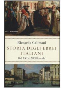 Copertina di 'Storia degli ebrei italiani'