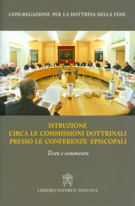 Copertina di 'Istruzione circa le commissioni  dottrinali presso le conferenze episcopali'