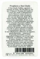 Immagine di 'Card San Giuda Taddeo in PVC - 5,5 x 8,5 cm - italiano'