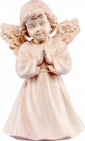 Statuina dell'angioletto che prega, linea da 10 cm, in legno naturale, collezione Angeli Sissi - Demetz Deur