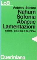 Nahum, Sofonia, Abacuc, Lamentazioni. Dolore, protesta e speranza - Bonora Antonio