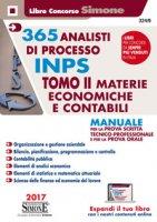 365 analisti di processo INPS. Manuale per la prova scritta tecnico-professionale e per la prova orale. Con Contenuto digitale per download e accesso on line
