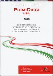 Copertina di 'PrimiDieci USA 2016'