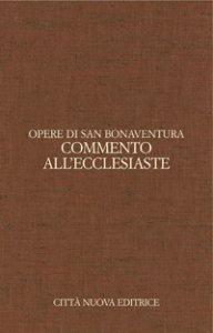 Copertina di 'Commento all'Ecclesiaste'