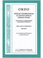 Ordo missae celebrandae et divini officii persolvendi 2016-2017