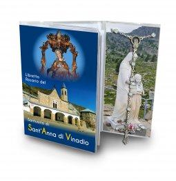 Copertina di 'Libretto con rosario Santuario di Sant Anna di Vinadio - Italiano'