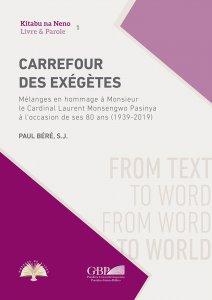 Copertina di 'Carrefour des exegetes'