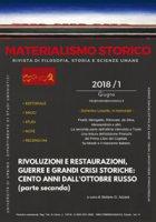 Materialismo storico. Rivista di filosofia, storia e scienze umane (2018)