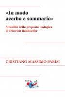 «In modo acerbo e sommario» - Cristiano Massimo Parisi