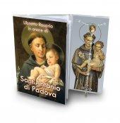 Libretto con Rosario Sant'Antonio di Padova - italiano