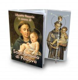 Copertina di 'Libretto con Rosario Sant'Antonio di Padova - italiano'