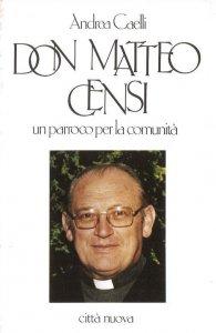 Copertina di 'Don Matteo Censi'
