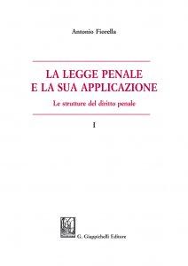 Copertina di 'La legge penale e la sua applicazione'