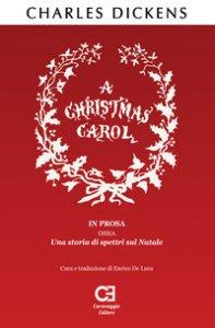 Copertina di 'Christmas Carol (A). Ediz. integrale'