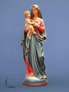 """Copertina di 'Statua in fibra di vetro """"Maria ed il Bambino"""" - altezza 75 cm'"""