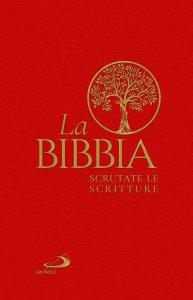 Copertina di 'La Bibbia. Scrutate le Scritture. Edizione con copertina rigida telata'