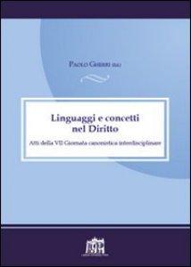 Copertina di 'Linguaggi e concetti nel diritto'
