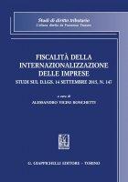 Fiscalità della internazionalizzazione delle imprese - Alessandro Vicini Ronchetti