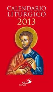 Copertina di 'Calendario liturgico 2013'