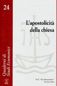 Copertina di 'L'apostolicità della chiesa'