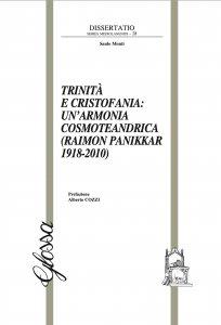 Copertina di 'Trinità e Cristofania: un'armonia cosmoteandrica (Raimon Panikkar 1918-2010)'