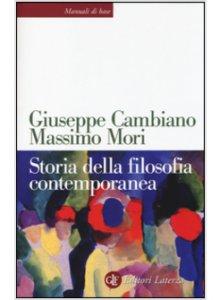 Copertina di 'Storia della filosofia contemporanea'