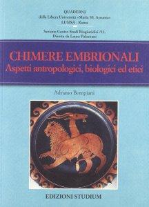 Copertina di 'Chimere embrionali'