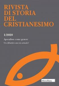 Copertina di 'RSCR. 1/2020: Apocalisse come genere. Un dibattito ancora attuale?.'