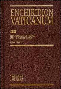 Copertina di 'Enchiridion Vaticanum. 22'