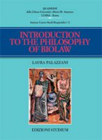 Introuction to the philosophy of biolaw - Palazzani Laura