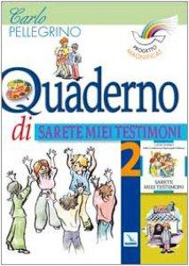 """Copertina di 'Progetto Magnificat. Vol. 3/2: Quaderno di """"Sarete miei testimoni""""'"""